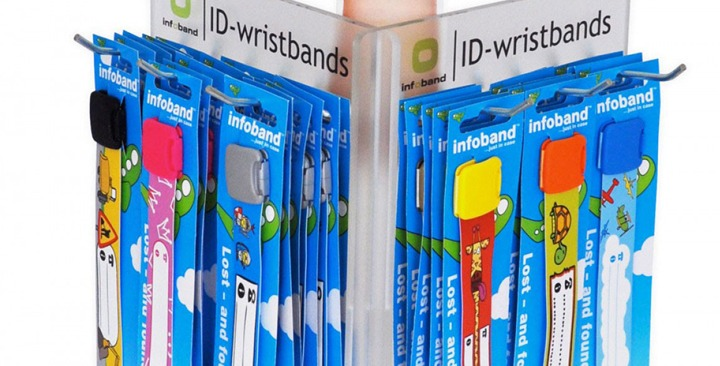 Sales display infoband