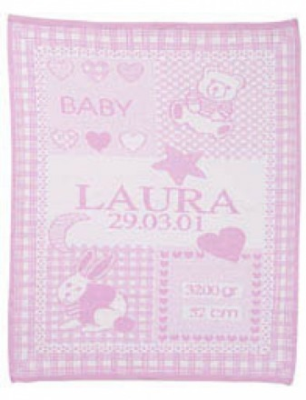 Baby blankets with name