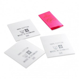 Care Labels - printed or woven