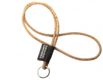 Exclusive cork lanyard
