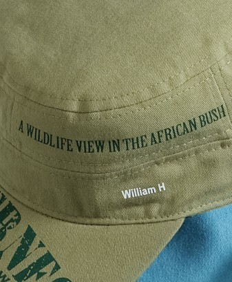 Iron-on transfers with your own text