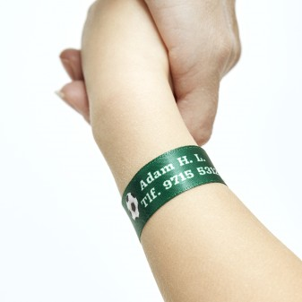 Personal ID Wristband for Children