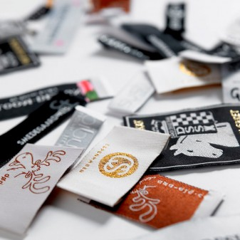 Woven labels in your own design