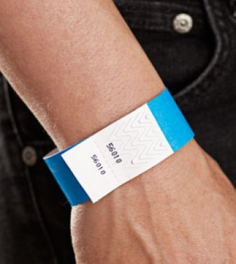 Wristbands with double numbers
